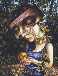 Cupid Complaining to Venus, by Carrie Ann Baade